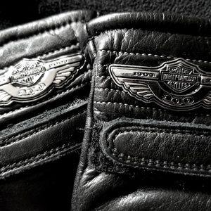 Harley Davidson 100th Anniversary Leather gloves